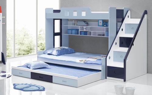 تخت کم جا دو طبقه